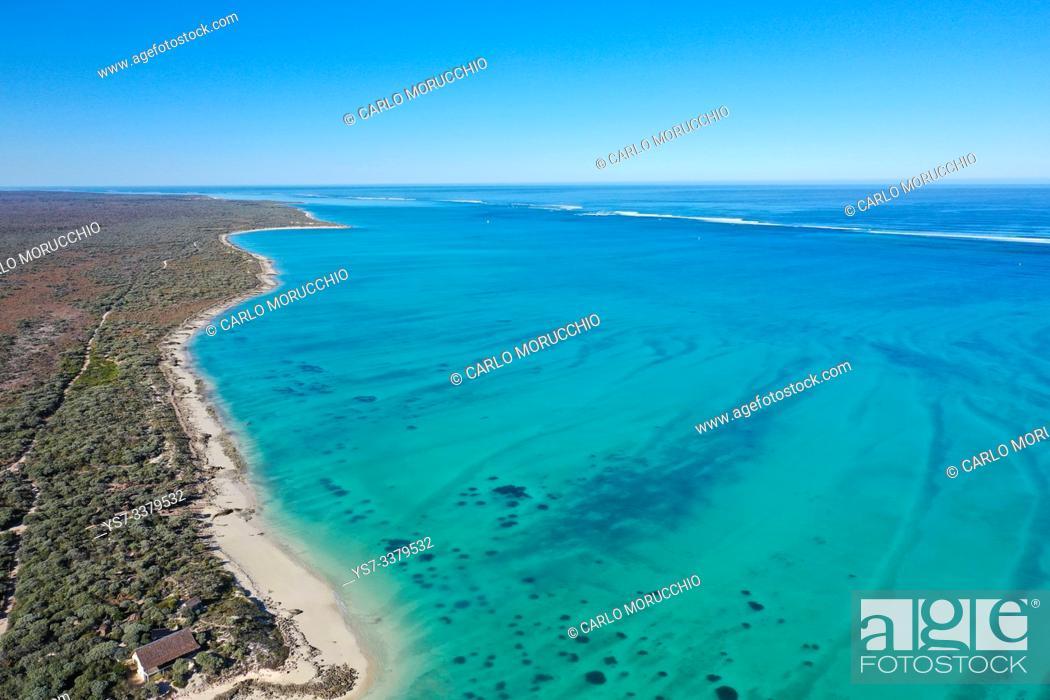 Stock Photo: Coral reef near Salary, South Western coast of Madagascar.