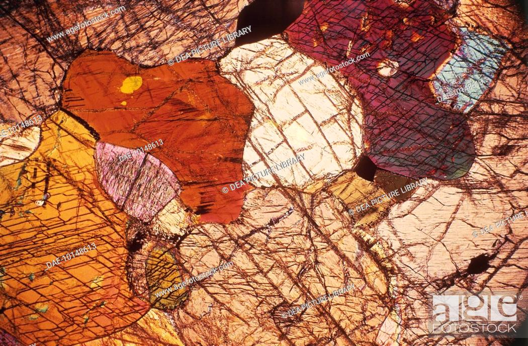 Stock Photo: Minerals: Peridotite (Rock).