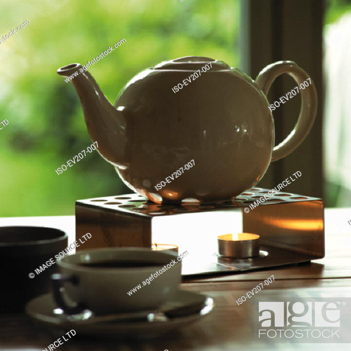 Stock Photo: Teapot.