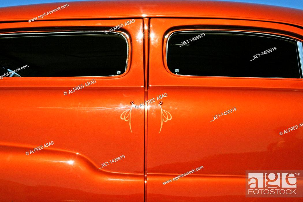 Stock Photo: classic car.