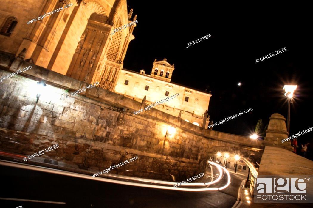 Stock Photo: Salamanca speed.