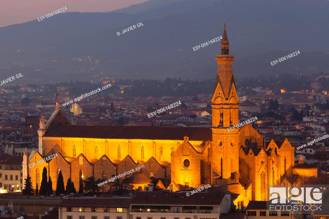 Stock Photo: Church in Florence, Tuscany, Italy.