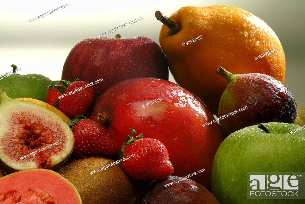 Stock Photo: Food, fruit.