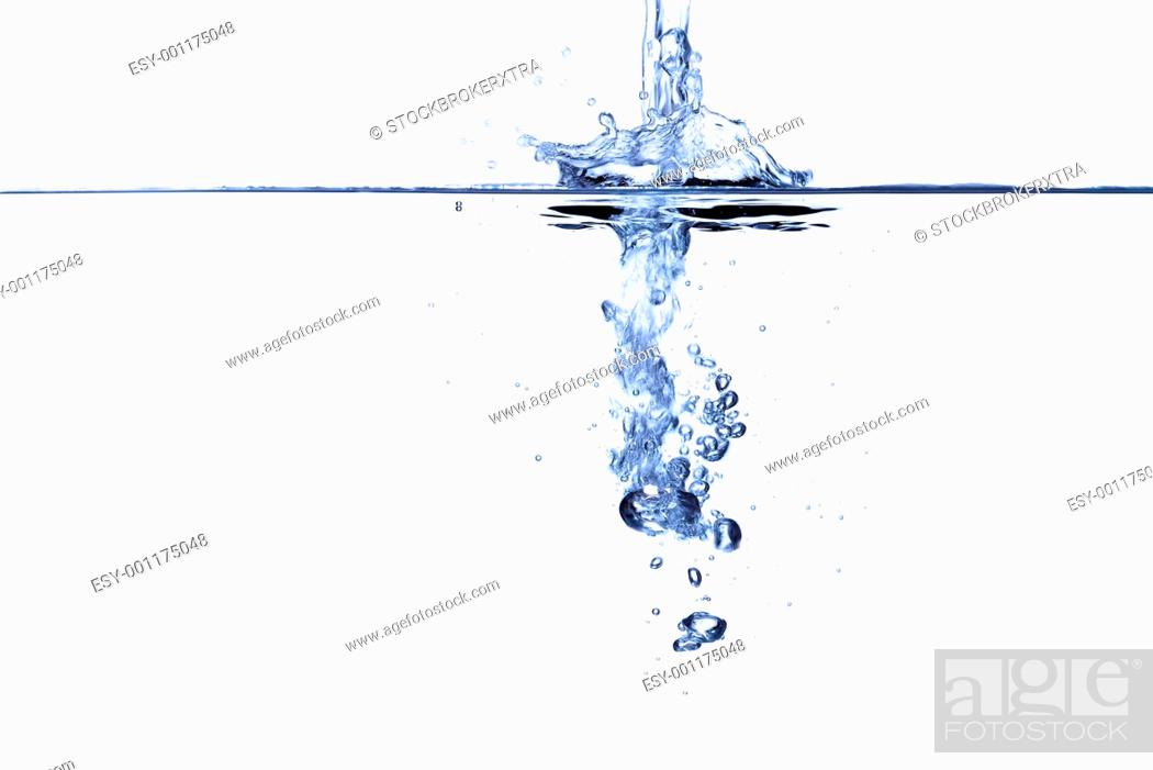 Stock Photo: Water abstract.