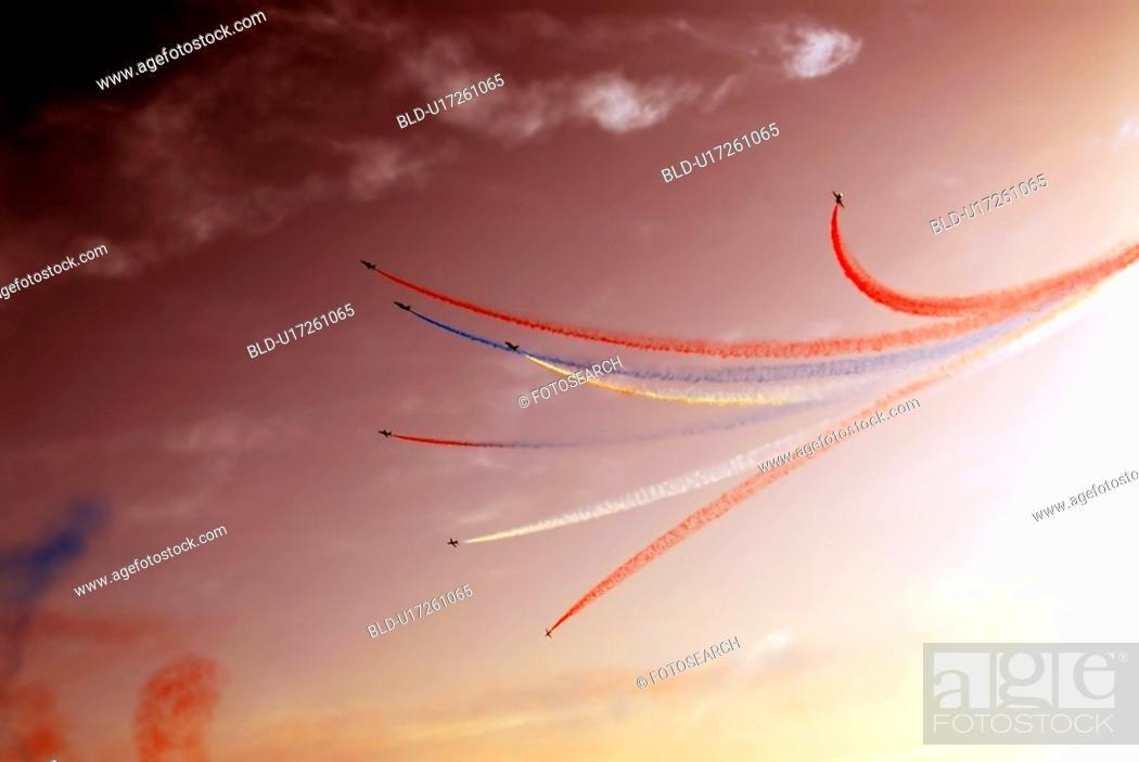 Stock Photo: airplane, dubai, airshow, show, air, arabic.