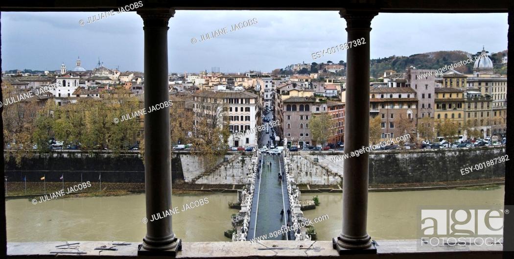 Stock Photo: Ponte Sant Angelo.