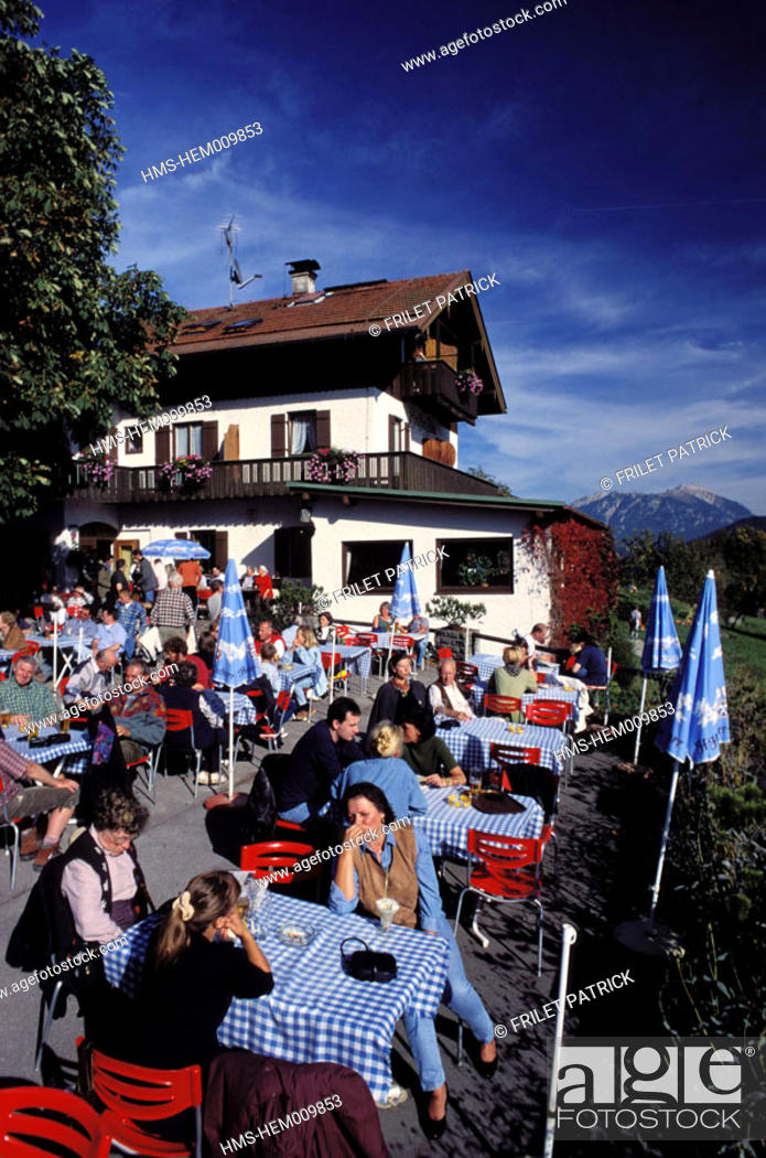 Stock Photo: Germany, Bavaria region, Garmish.