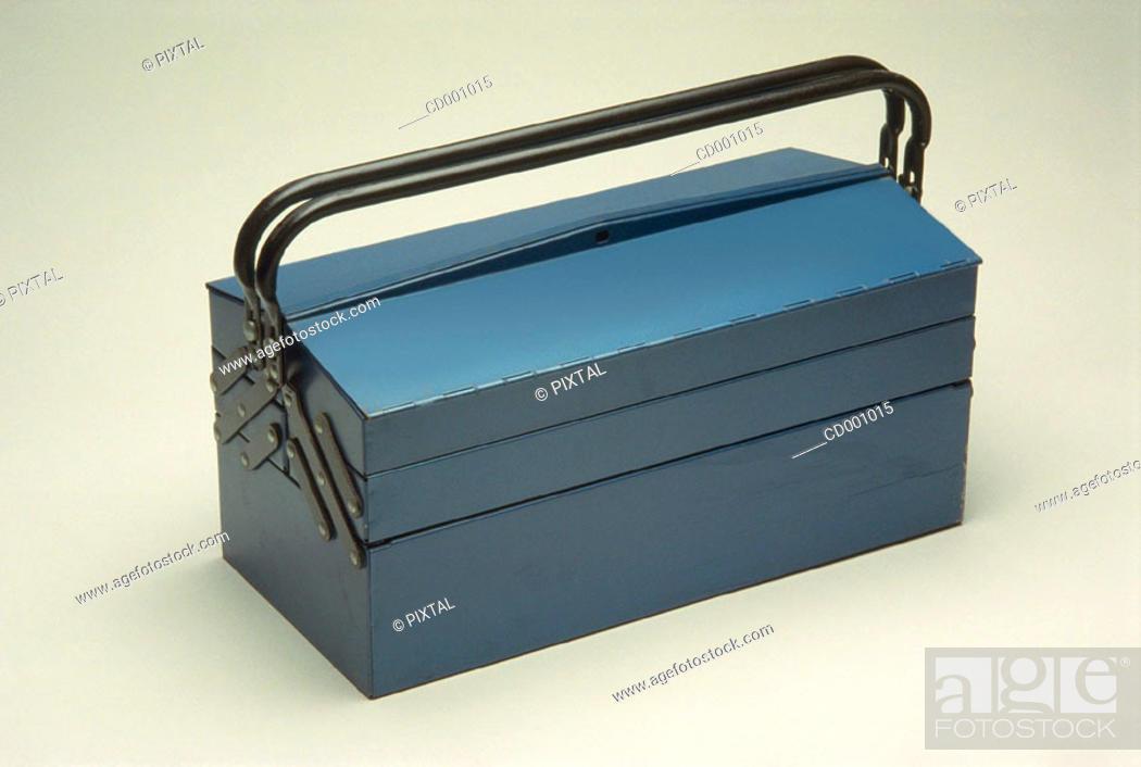 Stock Photo: Toolbox.