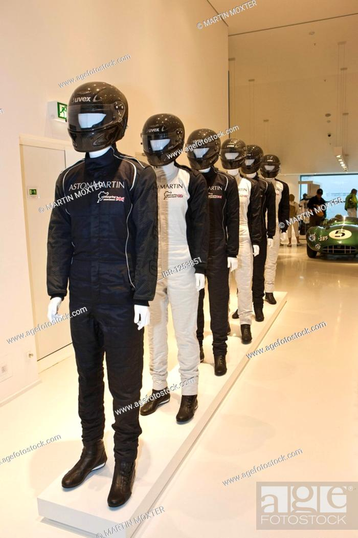 Collection Of Racing Suits For Aston Martin Stock Photo Picture And Rights Managed Image Pic Ibr 1253851 Agefotostock