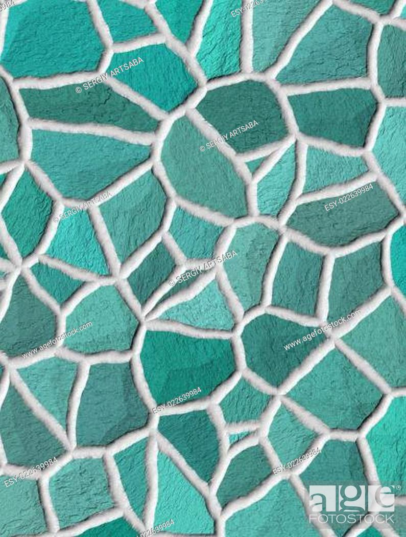 Stock Photo: Marble Mosaic texture.