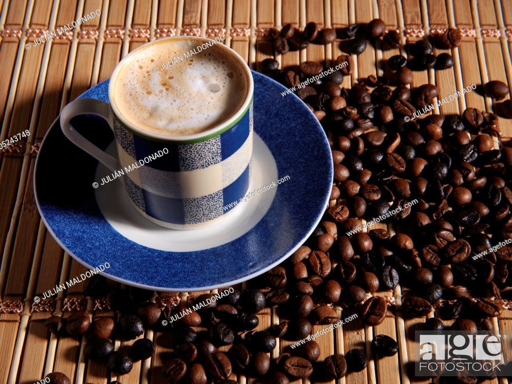 Stock Photo: Still life of coffee.