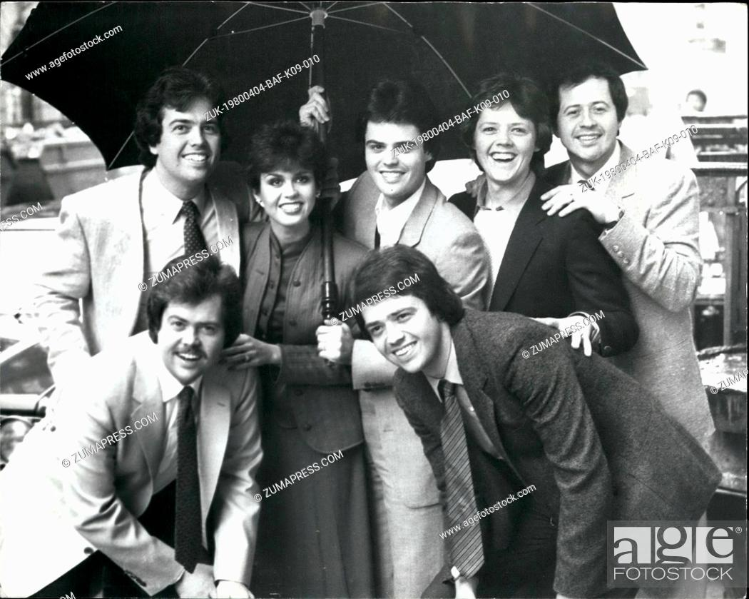 Imagen: Apr. 04, 1980 - The Osmonds say they are splitting up : The even members of the American singing family the osmonds, who arrived in London yesterday said this.