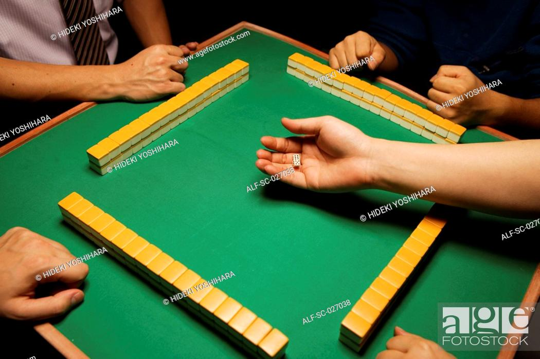 Stock Photo: Mahjong.