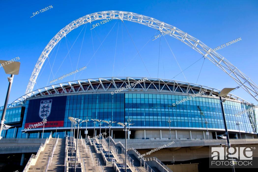 Stock Photo: europe, UK, England, London, Wembley Stadium 2010.
