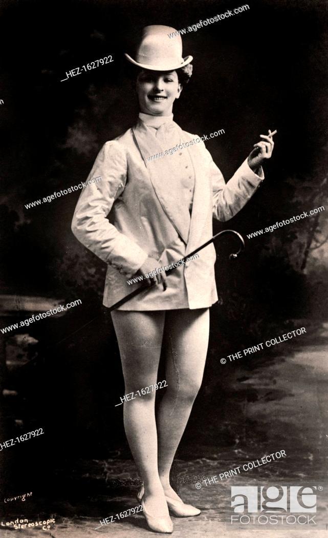 Stock Photo: Lily Iris, actress, 1906.