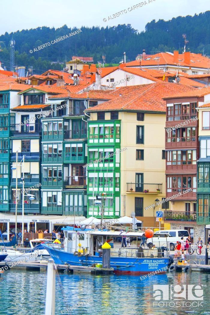 Imagen: Lekeitio Harbour, Lekeitio, Lequeitio, Biscay, Bizkaia, Vizcaya, Basque Country, Spain, Europe.
