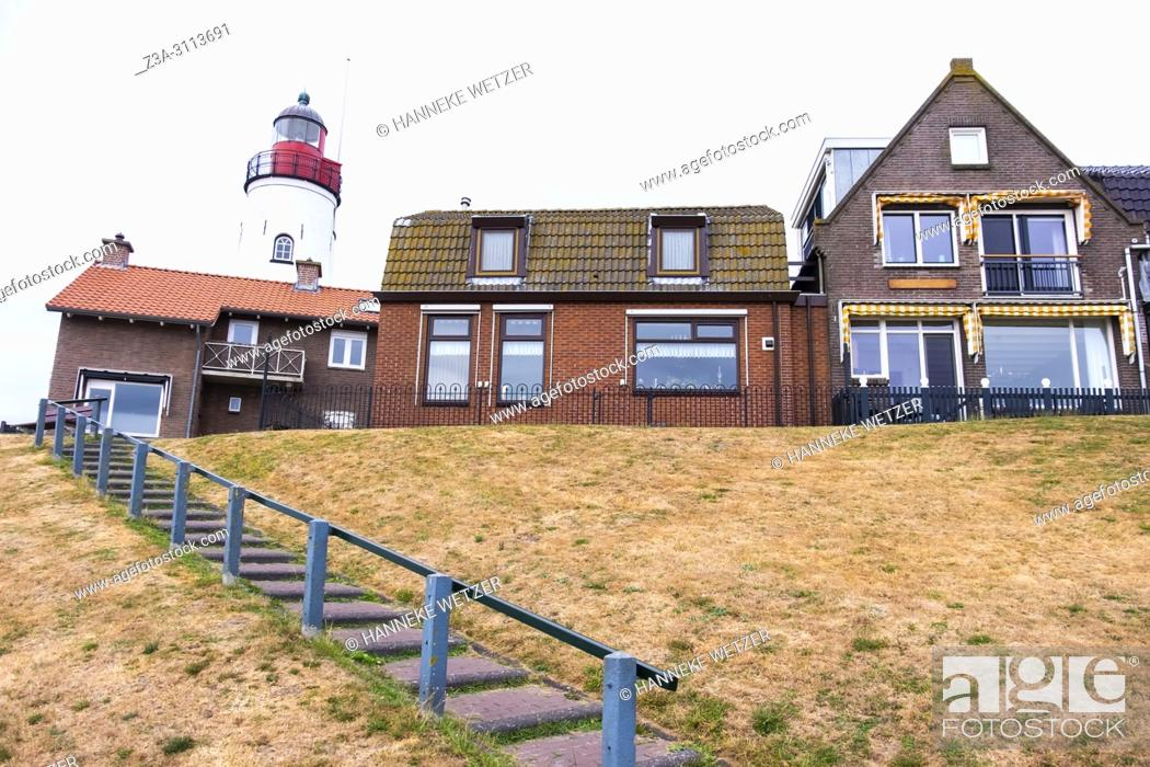 Photo de stock: Lighthouse in Urk, the Netherlands, Europe.