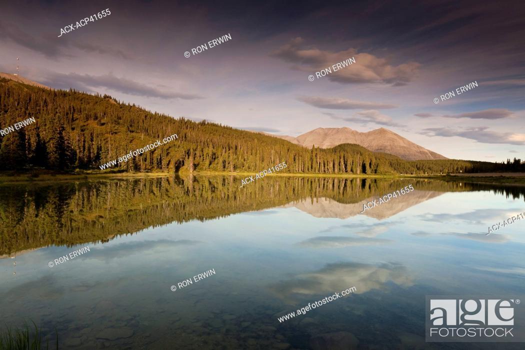 Rocky Crest Lake, Stone Mountain Provincial Park, British