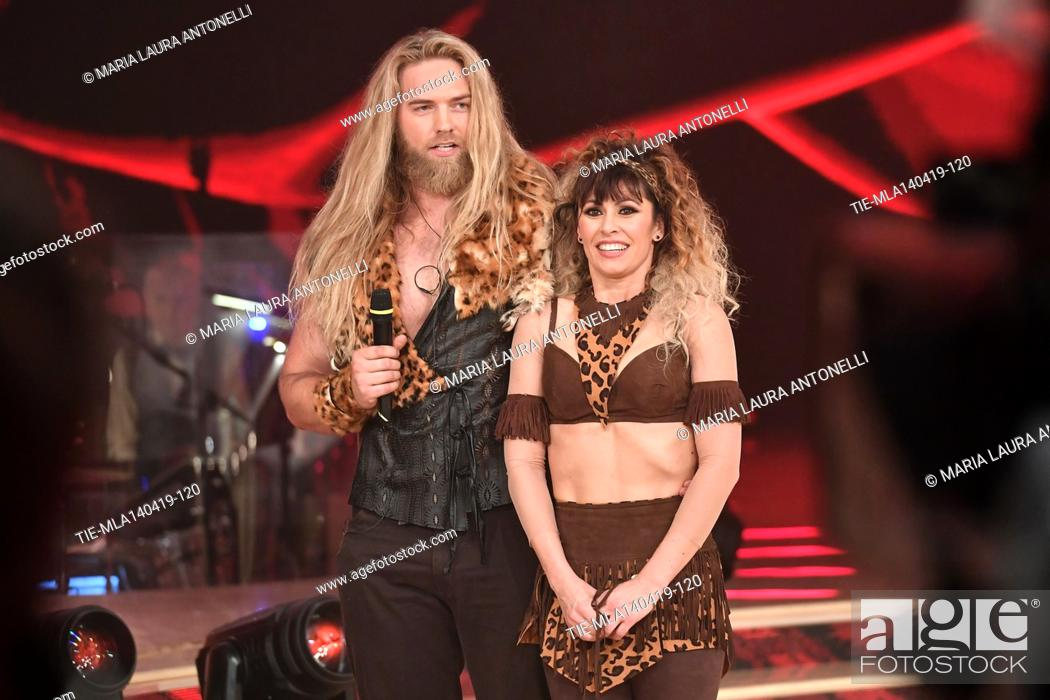 Imagen: Lasse Matberg during the performance at the talent show ' Ballando con le stelle ' (Dancing with the stars) Rome, ITALY-14-04-2019.