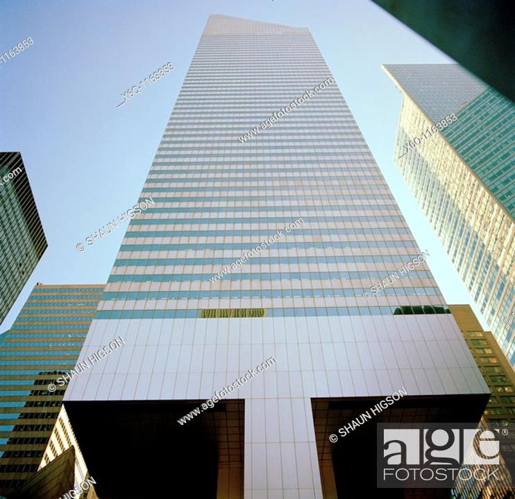 Stock Photo: The Citygroup Center Building in New York City , USA.