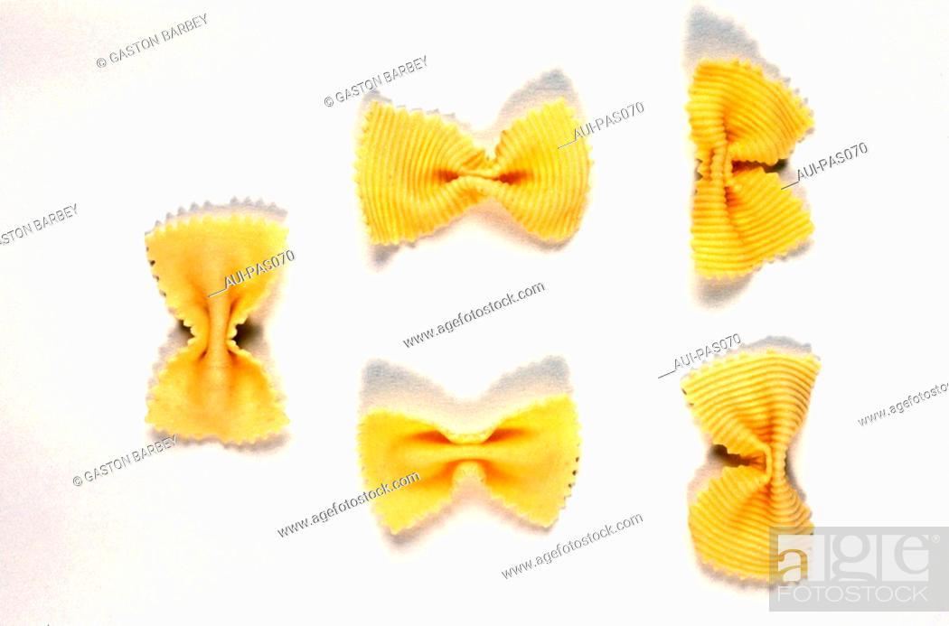 Stock Photo: Pasta - Savoy Butterfly.