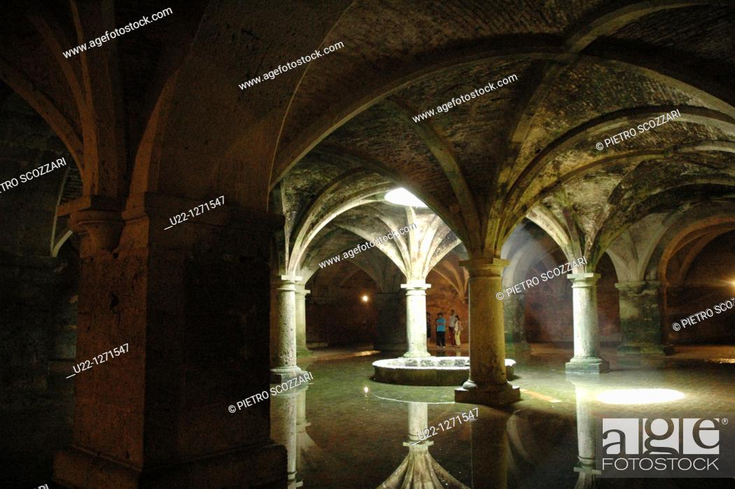 Stock Photo: El Jadida (Morocco): the old Portuguese Cistern.
