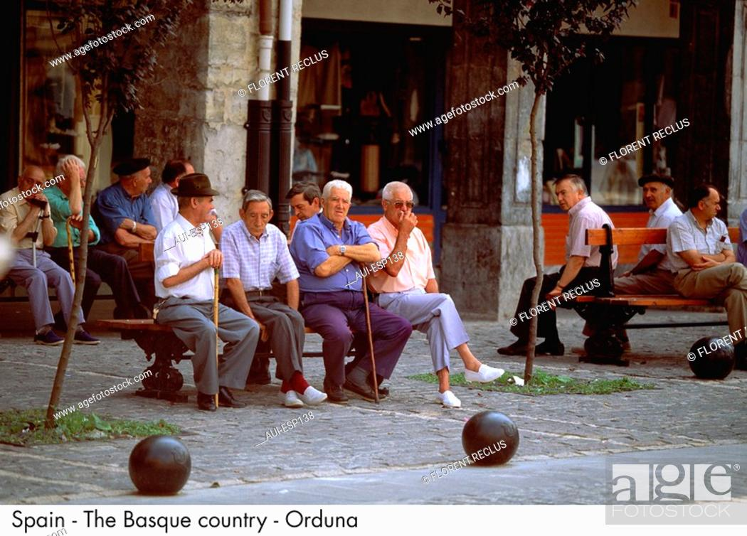 Stock Photo: Spain - The Basque country - Orduna Spain.