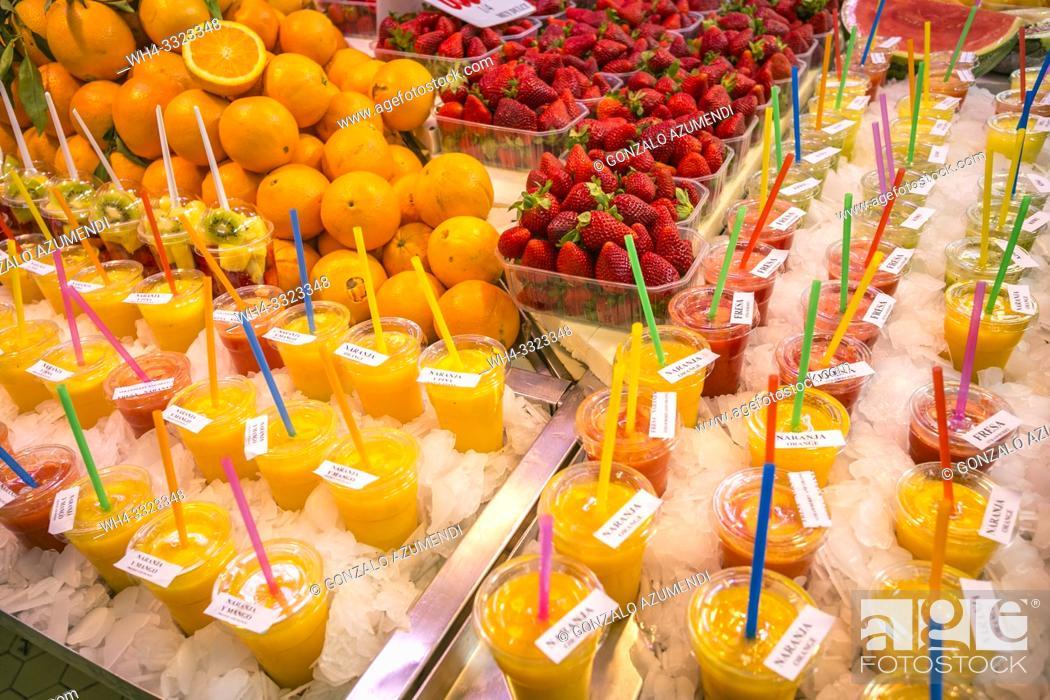 Imagen: Central Market. Valencia. Comunidad Valencia. Spain. Europe.