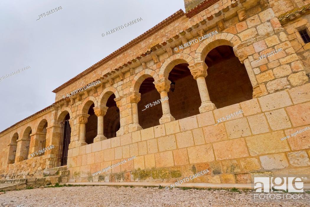 Imagen: Church of Nuestra Señora del Rivero, Church of San Miguel,11th century, Romanesque Style, Spanish Property of Cultural Interest, San Esteban de Gormaz, Soria.
