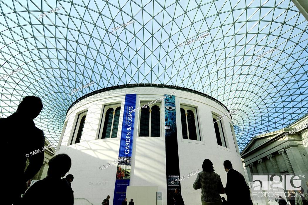 Stock Photo: British Museum, London, England, UK, Europe.