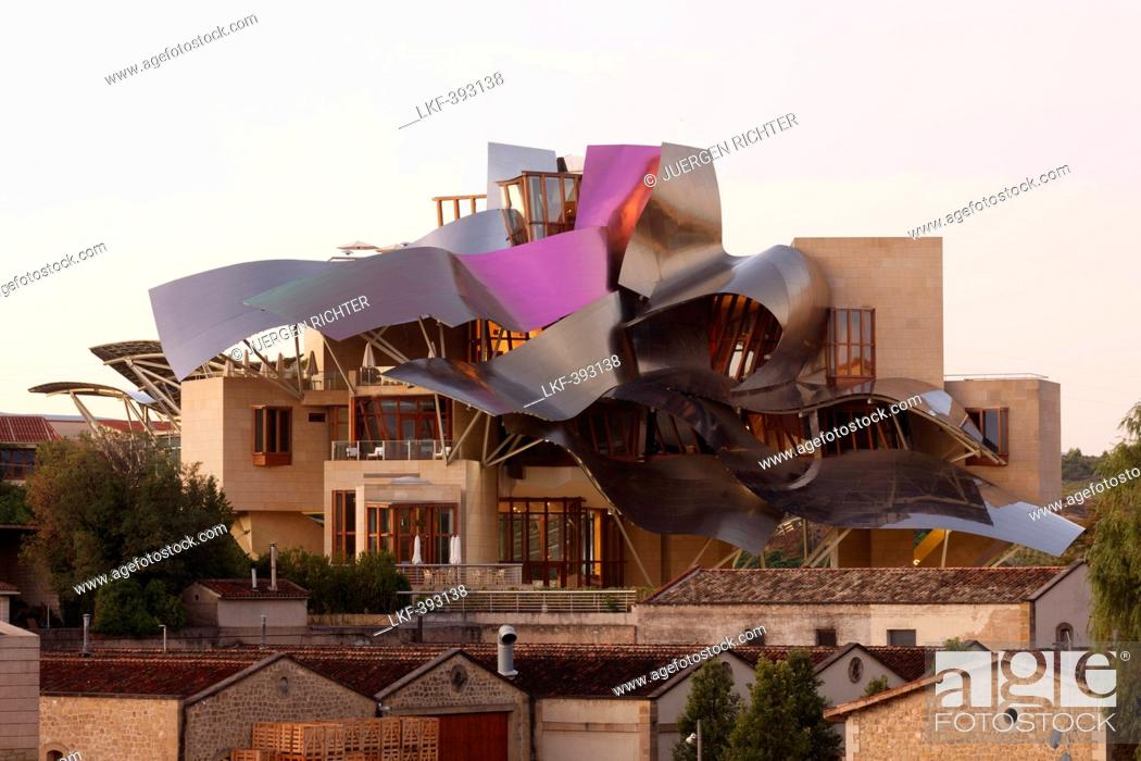 Hotel Marques De Riscal Architect Frank Gehry Bodega Herederos Del