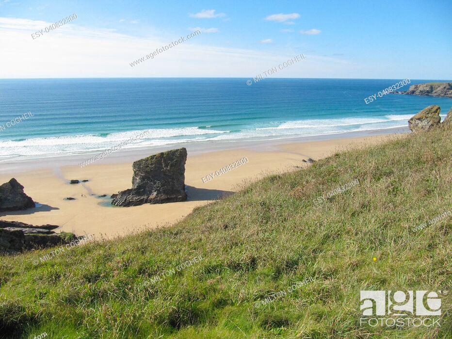 Imagen: Bedruthan Steps, Cornwall.