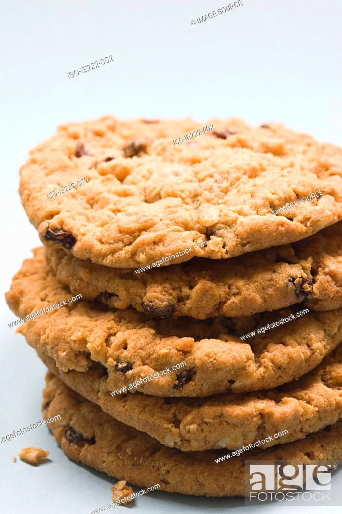 Stock Photo: Stack of cookies.