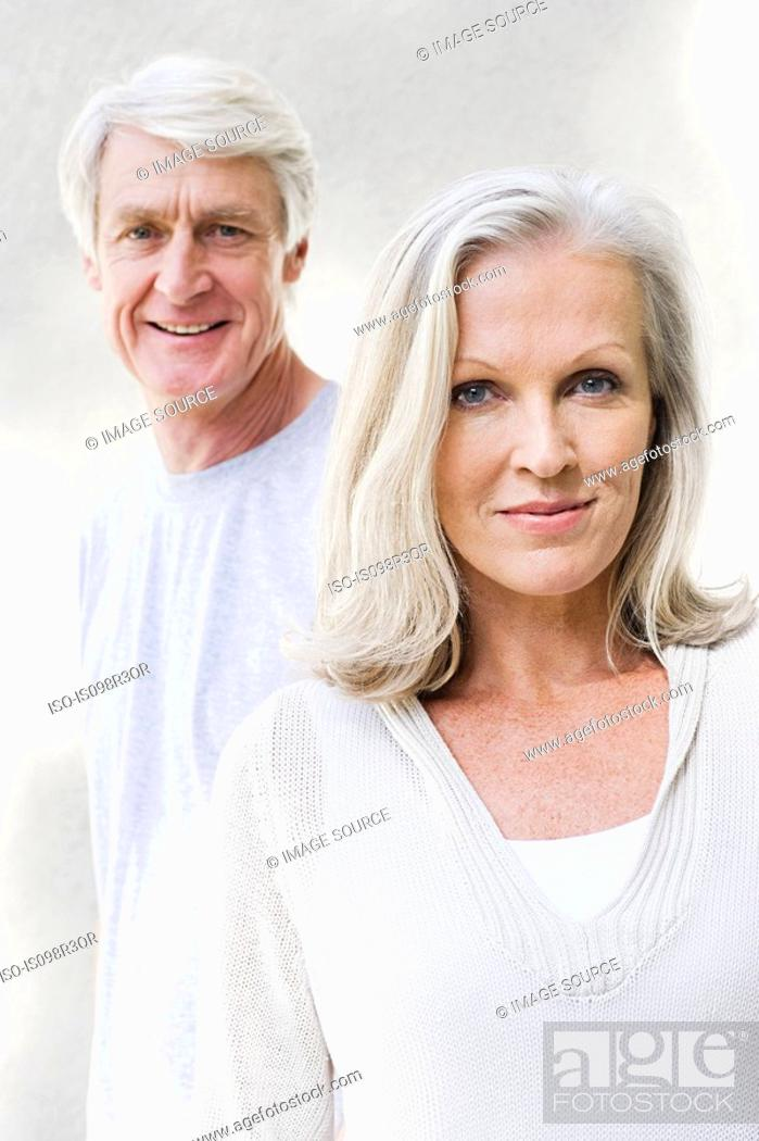 Stock Photo: Middle aged couple.