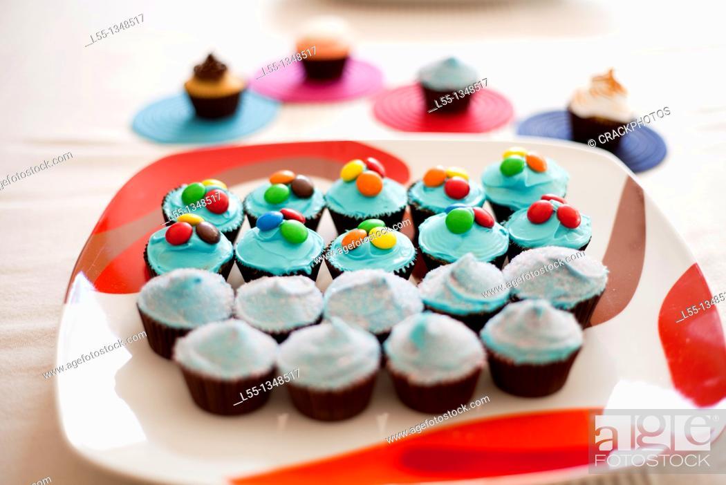 Stock Photo: Muffins.