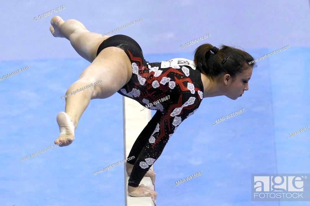 vanessa ferrari, milano 2009, european artistic gymnastic ...