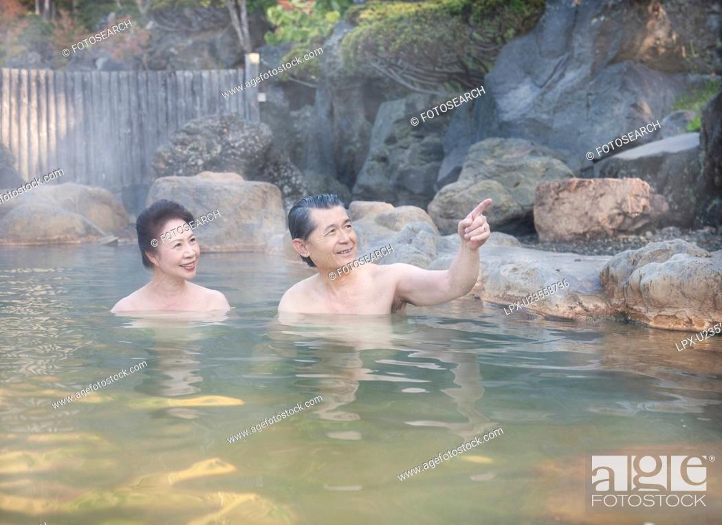 Hot mature couple having fun