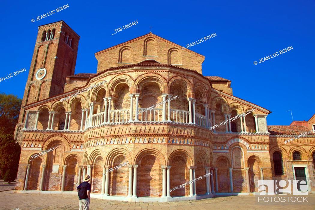 Imagen: italie, venise : murano, église ss maria donato.
