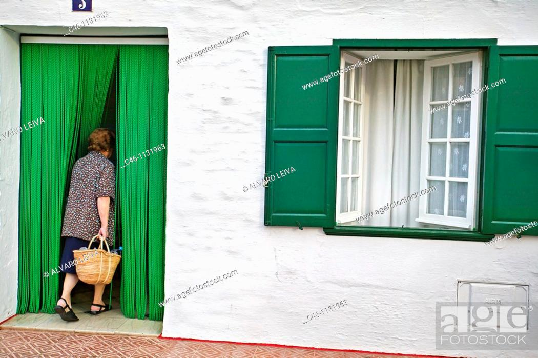 Stock Photo: Fornells. Menorca. Balearics. Spain.