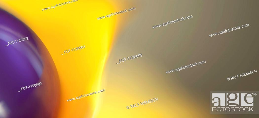 Stock Photo: Abstract colored forms and light.