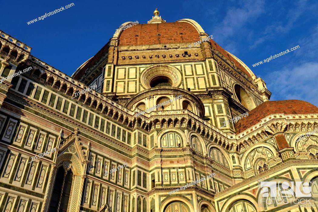 Photo de stock: duomo of Florence in Italy.