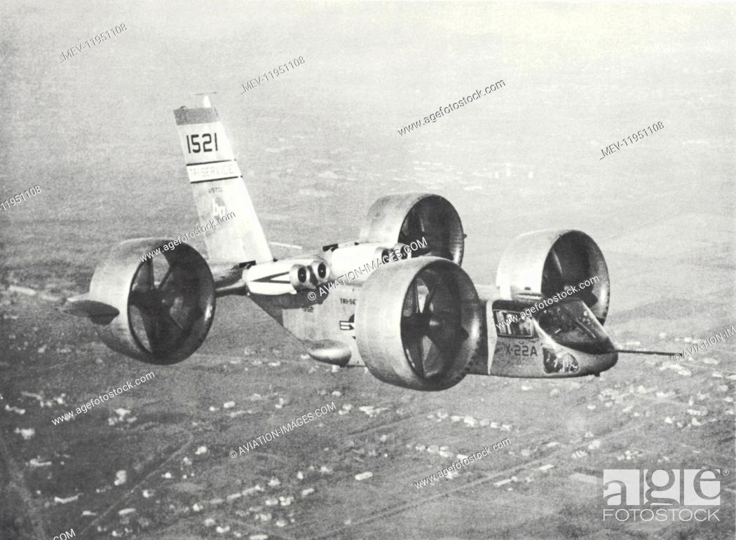 The Second Prototype X-22A V/Stol Ducted-Fan Experimental