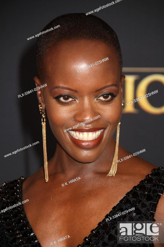 """Stock Photo: Florence Kasumba 07/09/2019 """"""""The Lion King"""""""" Premiere held at the Dolby Theatre in Hollywood, CA. Photo by: K. Hirata / HNW/ PictureLux."""