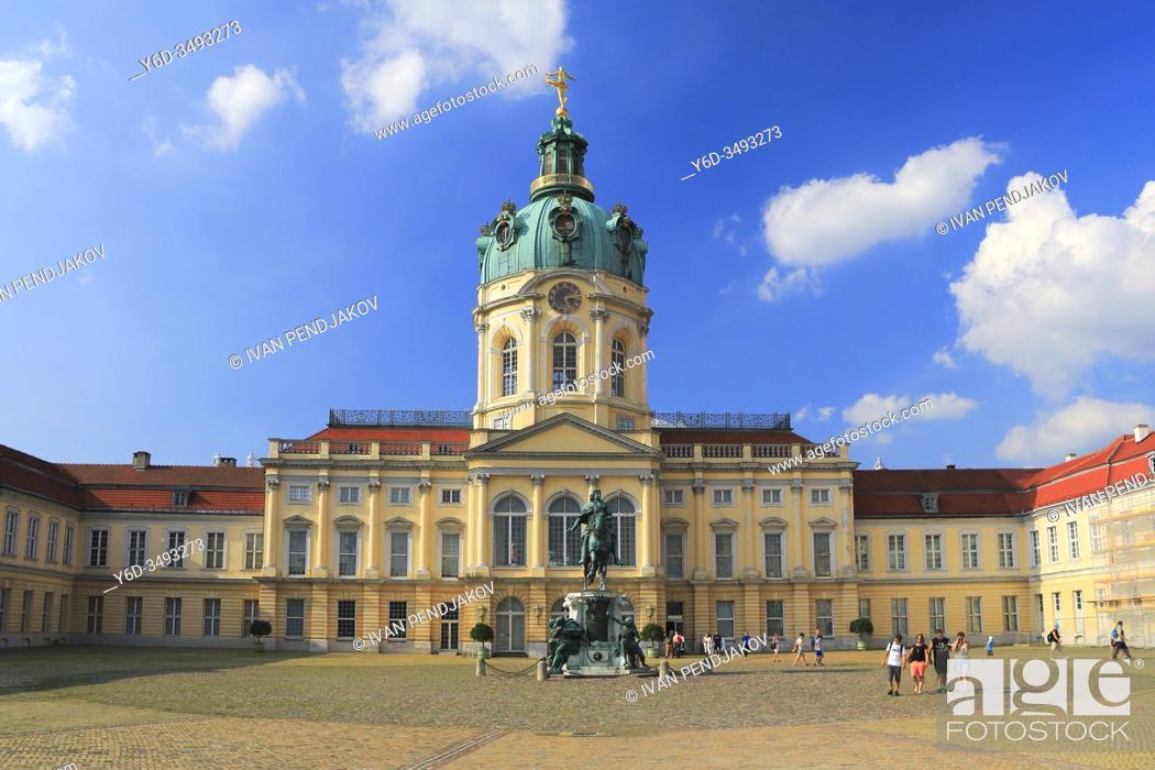 Stock Photo: Charlottenburg Palace, Berlin, Germany.