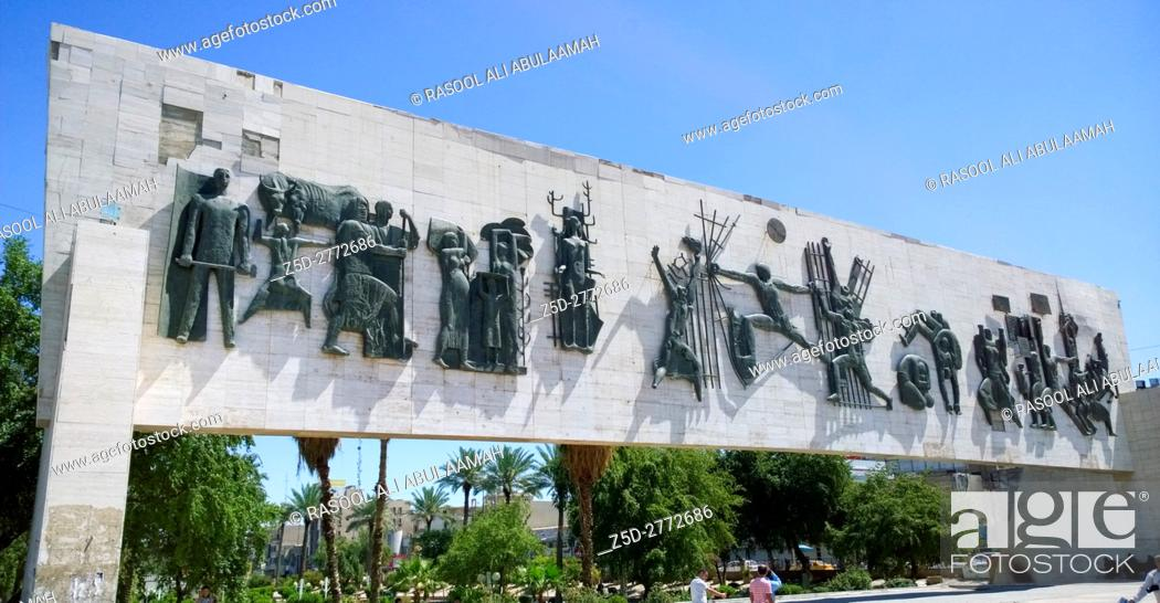 Picture For Monument Of Liberty In Baghdad In Iraq Designed By