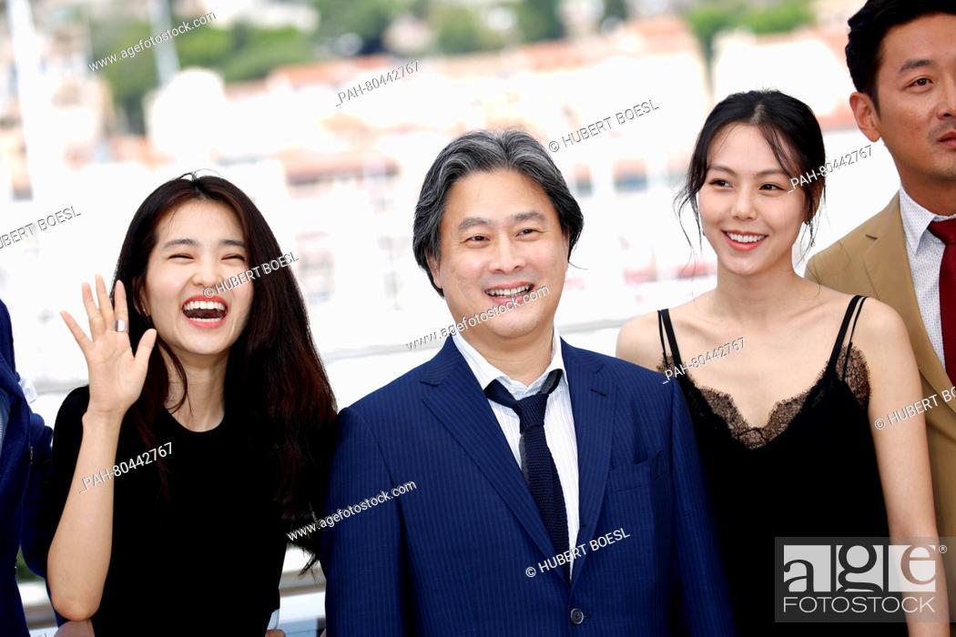 Actress Kim Tae-Ri, director Park Chan-Wook, actress Kim Min