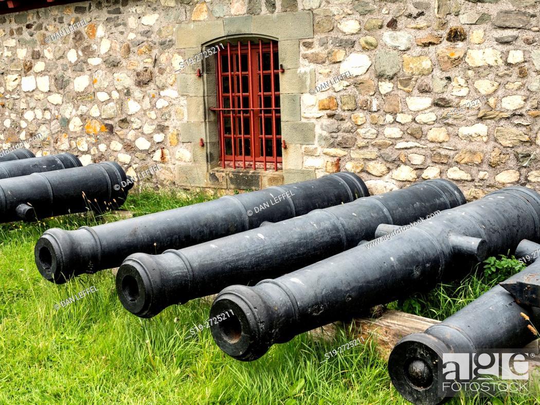 Imagen: Fortress Louisbourg Nova Scotia Canada.