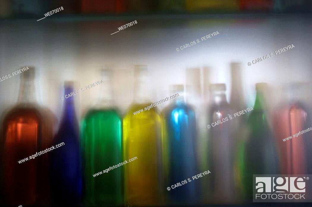 Stock Photo: Bottles.