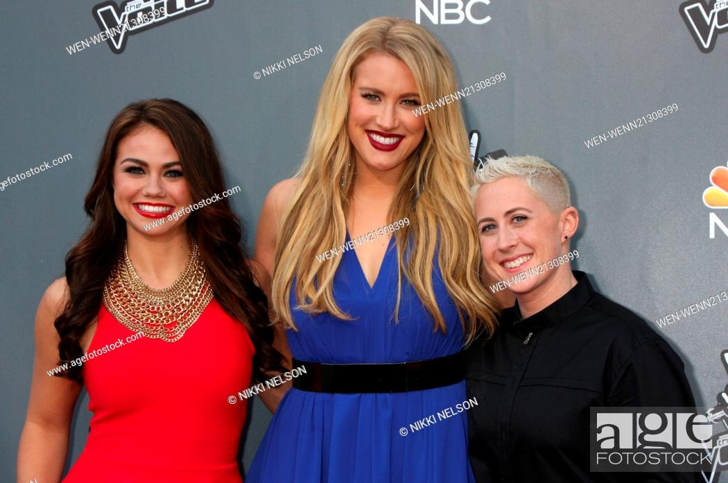 The Voice' Season 6 Top 12 photocall held at Universal City
