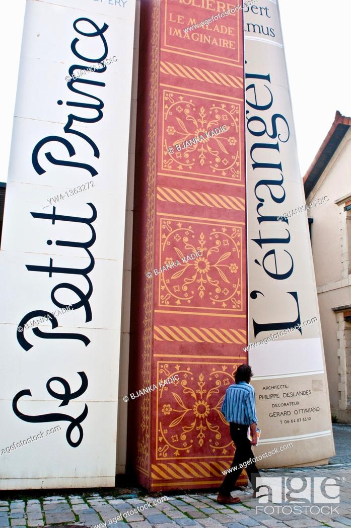 Stock Photo: Cite du Livre Arts Centre, Aix-En-Provence, France.